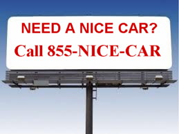 Billboard 855-NICE-CAR